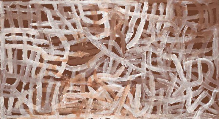 EMILY KAME KNGWARREYE / UNTITLED (ALHALKERE), 1995 110 x 201cm