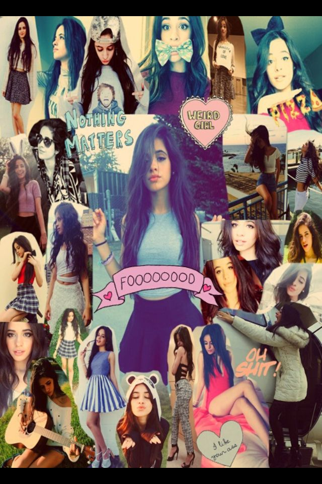 Not mine: camila collage