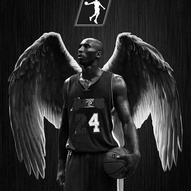 """Kobe Bryant on Instagram """"My angel"""" in 2020 Kobe bryant"""