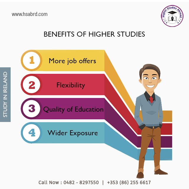 Benefits Of Studying Abroad Are More Explore The Opportunities With Higher Studies Abroad Contact Us Now 0482 8297550 353 Study Abroad Study Education