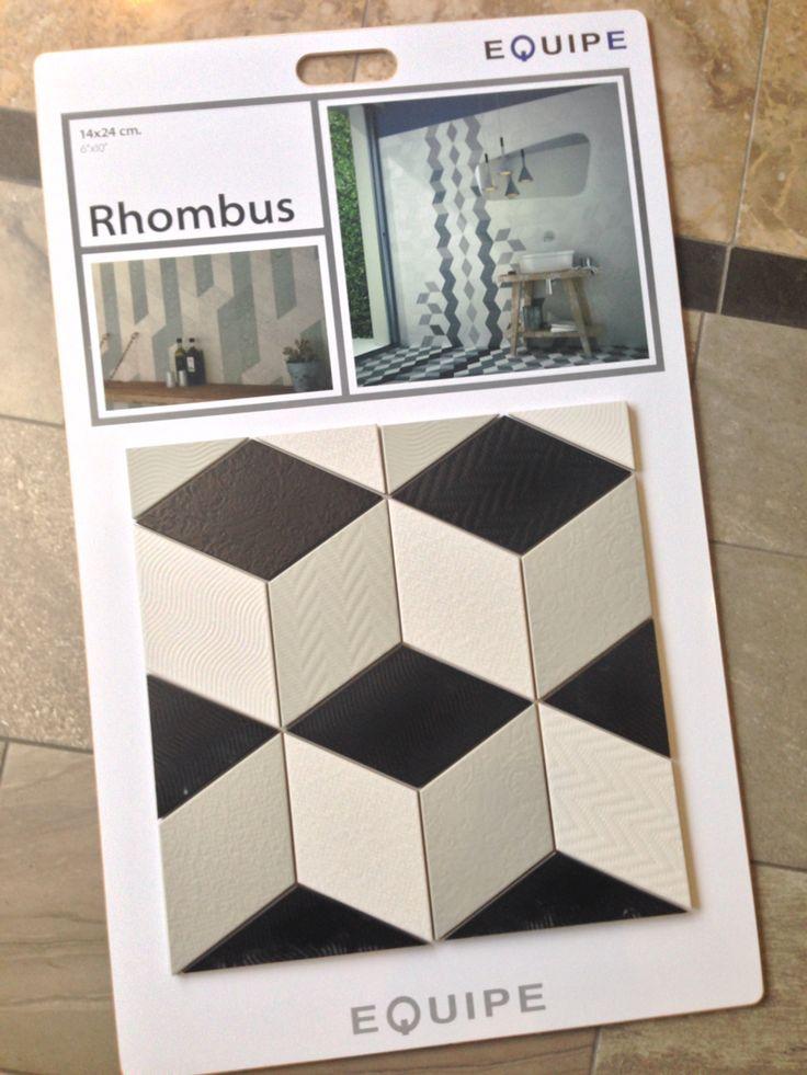 Just Arrived!!! #anticatile #terraverre #essentialsofdesign #rhombus #porcelain #tile #torontotile #interiordesign #floortile #walltile #design