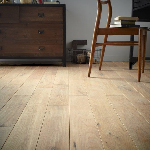 parquet_massif_chene_nature_soft_huile_l_artens_solidclic - LeroyMerlin 44,95€