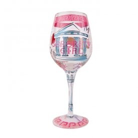 17 best images about wine glasses on pinterest initials for Painted wine glasses with initials