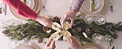 Decora tu mesa navideña clásica