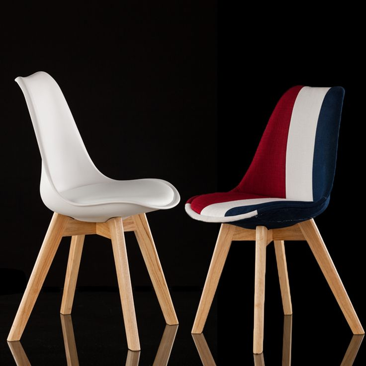 Find More Dining Chairs Information About Fashion 100 Wooden Plastic PU ChairwhiteRed Bluedining Chairliving Room Furniture Leisure Bar Chairwooden