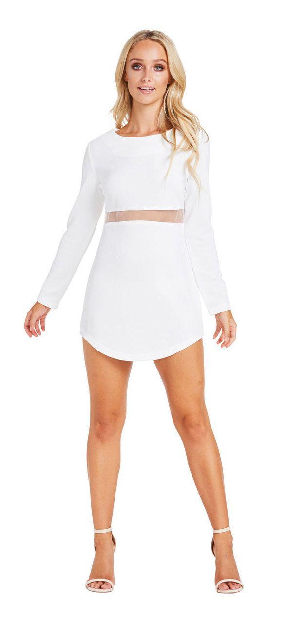 Wicked Love Dress (White) - Miss G