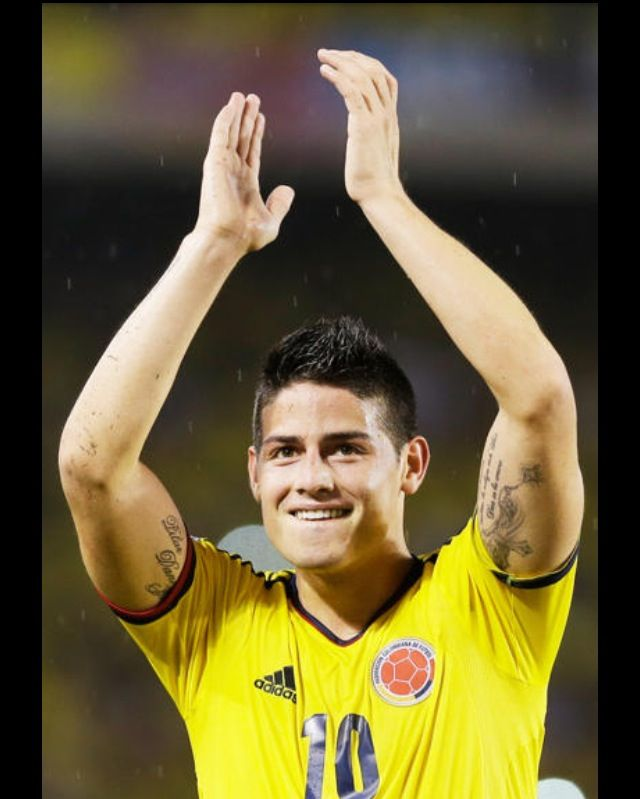 James Rodriguez -representing FIfA Columbia team.