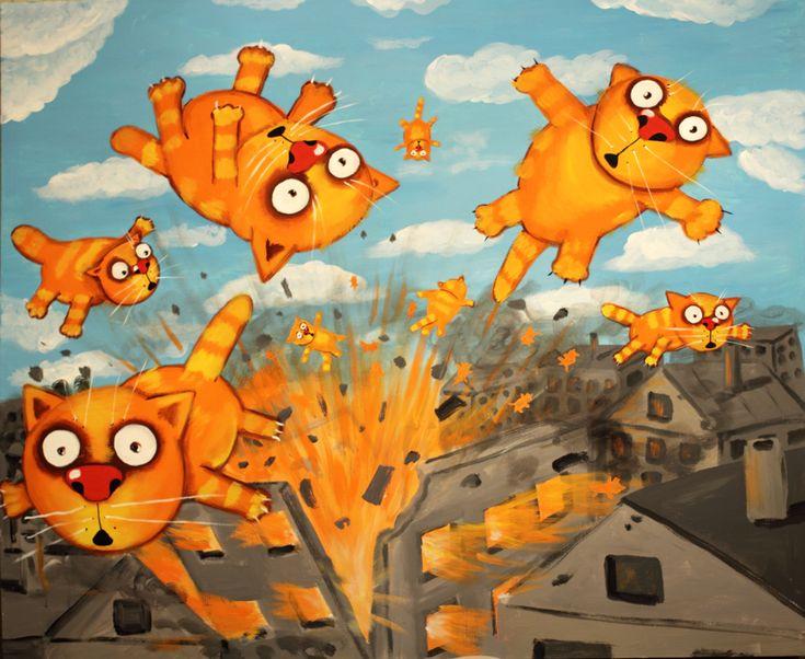 Взрыв на кошачьей фабрике