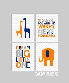 grey, navy and orange baby shower - Google Search
