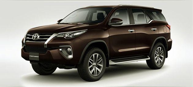2020 Toyota Fortuner Redesign