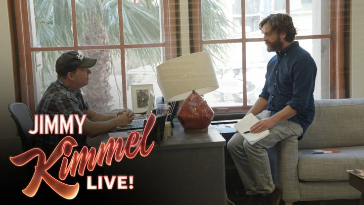 Zach Galifianakis Asks Cousin Sal How He Really Feels About Jimmy Kimmel (===================) My Affiliate Link (===================) amazon http://amzn.to/2n6MagF (===================) bookdepository http://ift.tt/2ox2ryU (===================) cdkeys http://ift.tt/2oUpFex (===================) private internet access http://ift.tt/PIwHyx (===================) Zach Galifianakis stops by the show to ask Jimmy's cousin Sal some difficult questions. Star Wars Fan Adam Scott Surprised by His…