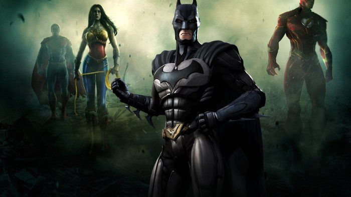 Wallpaper Fictional Character Flare Darkness Superhero Batman Batman Injustice Superman Games Injustice Game