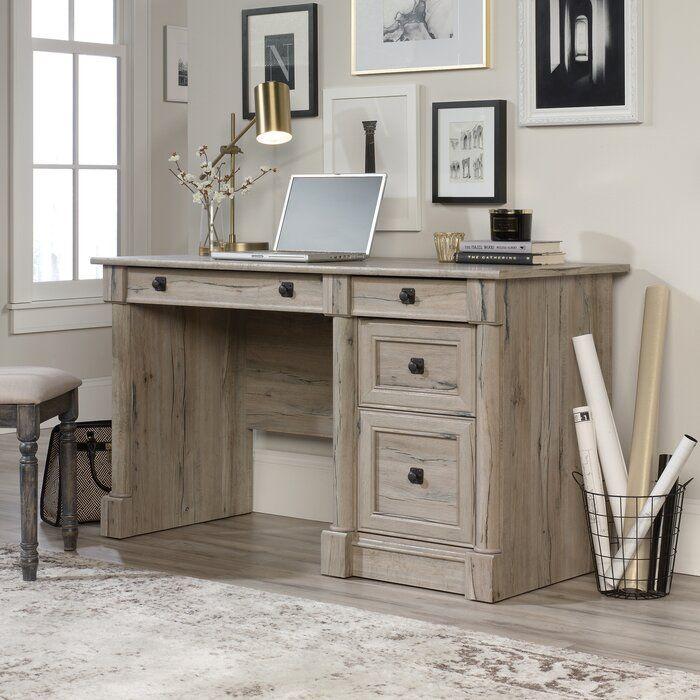 Walworth Computer Desk Solid Wood Desk Wood Computer Desk Computer Desk