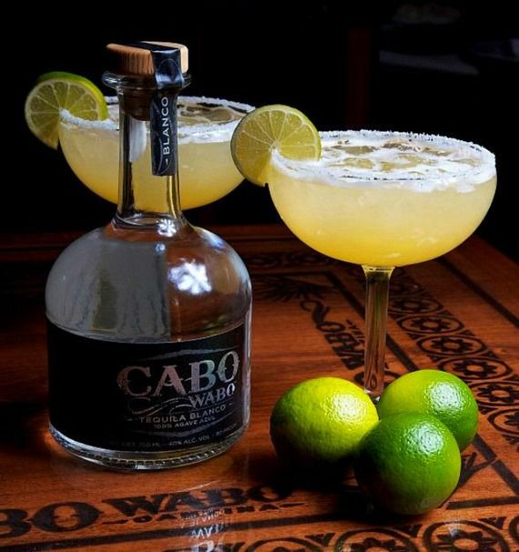 Margaritas always taste better with Cabo Wabo Tequila - Tequila tasting in Cabo