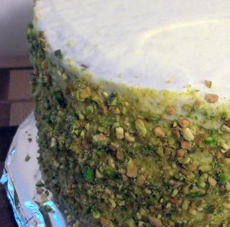 Dima Sharif Pistachio Cake Recipe