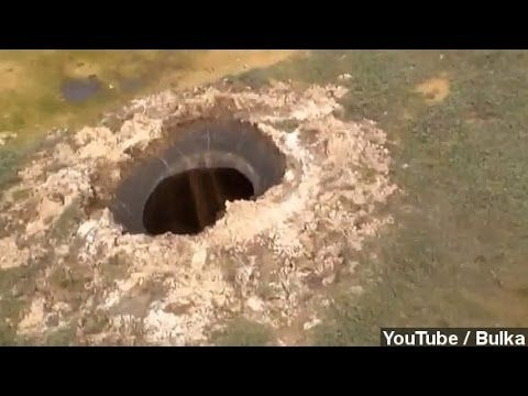 Scientists Investigating Mysterious Giant Hole In Siberia - YouTube
