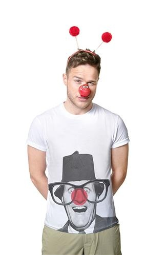 olly murs for Red Nose Day<3