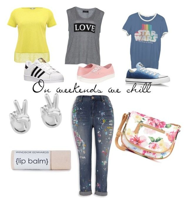 """""""#ContestOnTheGo #ContestEntry"""" by lynetteamaro on Polyvore featuring Melissa McCarthy Seven7, Carmakoma, Vans, M&Co, Junk Food Clothing, Converse, adidas, Rock 'N Rose, Apt. 9 and contestentry"""