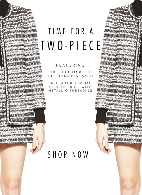 Time for a two-piece!! Loving our fall separates!!