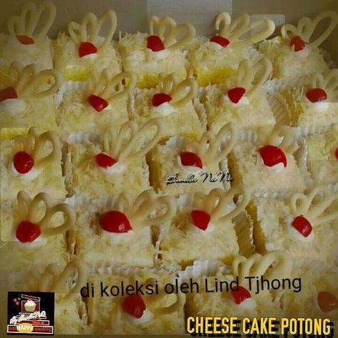 Resep Cara membuat CHEESE CAKE POTONG | Baca Resep