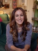 Tour Sarah Jessica Parker's Eclectic NYC Brownstone #refinery29. Love the style the interview was done in, I want my TV students to try it with the principal or housemaster.