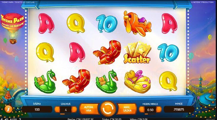 Den plný překvapivých výher je tady!Stačí když vložíte minimálně 300 Kč a získáte skvělé roztočení zdarma!http://www.hraci-automaty.com/novinky/ziskej-50-roztoceni-zdarma-na-theme-park-tickets-of-fortune #hraciautomaty #doublestar #themeparkticketsoffortune