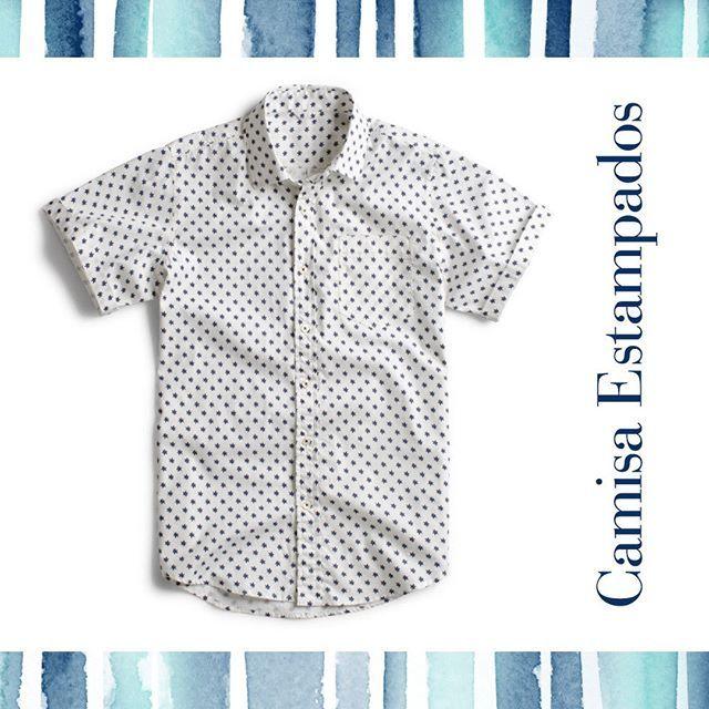 Camisa estampados manga corta... #savillerow #savillerowofficial #Man #look #SS17