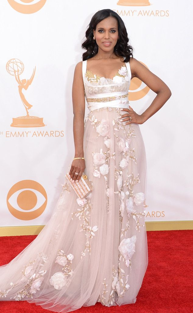 Kerry Washington from 2013 Emmys: Red Carpet Arrivals | E! Online