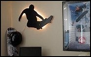 96 best images about skater room ideas on pinterest cool for Boys skateboard bedroom ideas