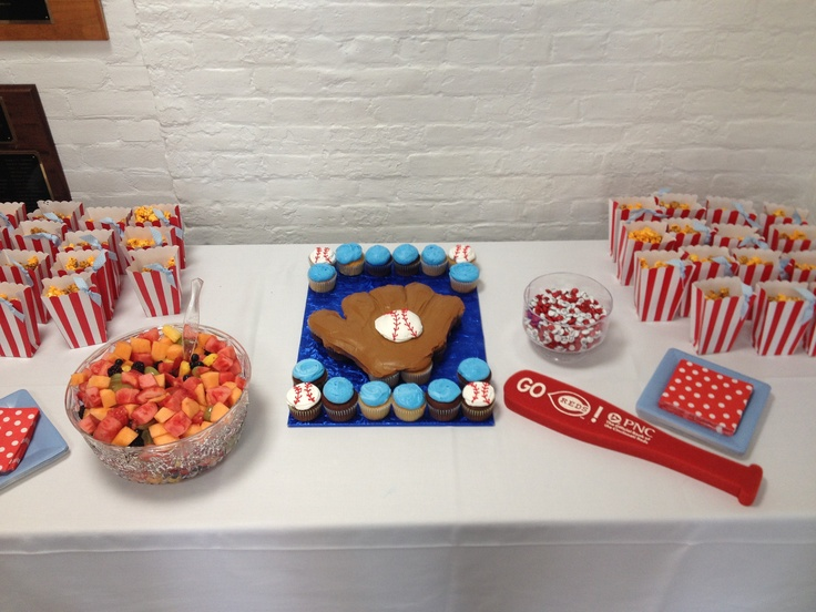 baseball themed baby shower cupcake cake baby shower pinterest