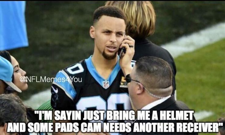 I liked Curry before I found out he was a Panthers fan...