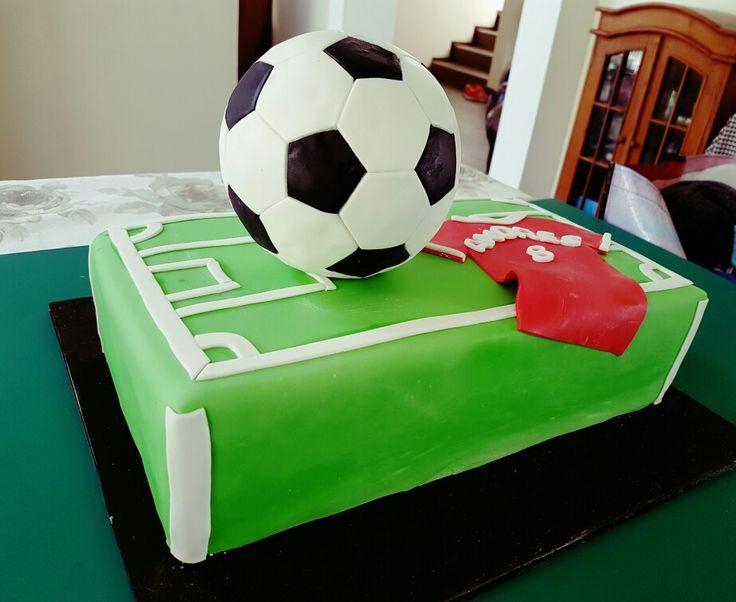 Soccer cakes, Kinderkrippe Cakes by Elizabeth Viera Villar