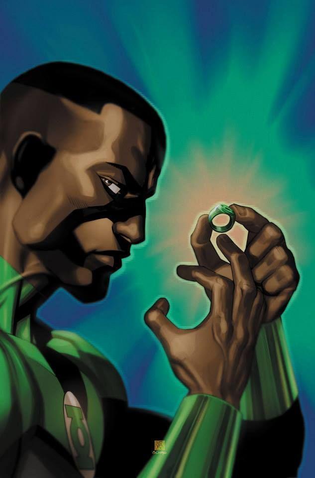 Green Lantern / John Stewart (really like this)