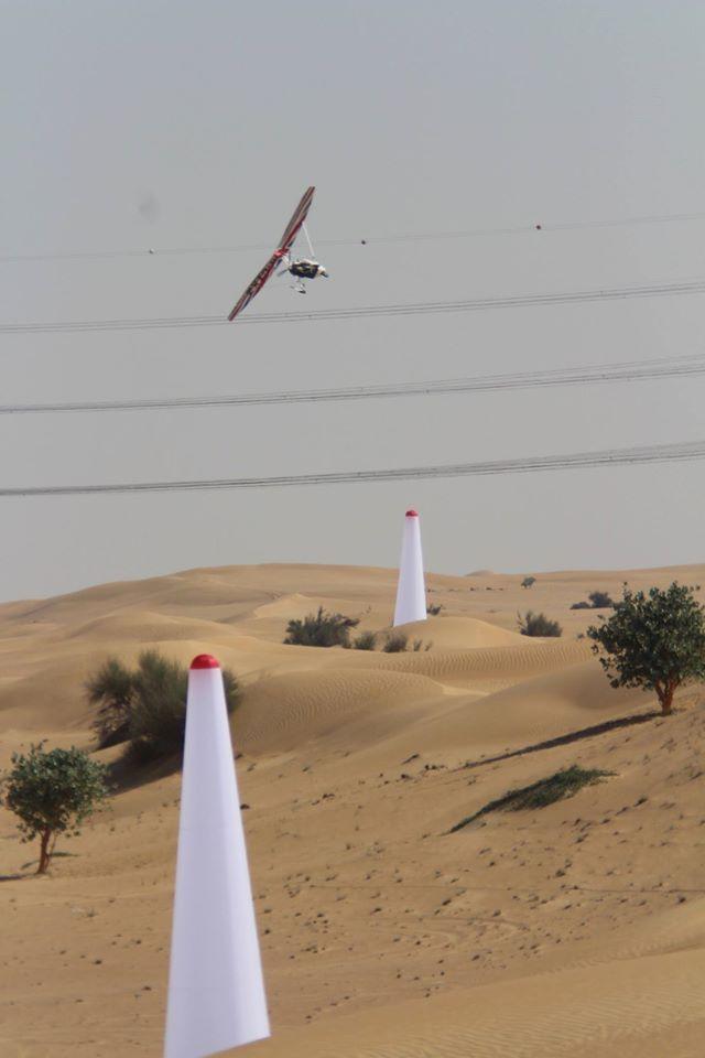 Racing microlights in the Desert