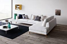 Divanetto lineare Uffici, divano moderno salotto Time