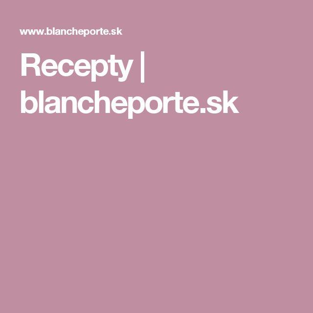 Recepty | blancheporte.sk