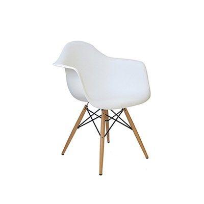 Cadeira em PoliprobilenoDesign e inovação está Cadeira Polipropileno é uma ótima opção para pessoas que valorizam o design. Uma ótima opção para deixar ambientes com estilo, ambientes que reflitam sua personalidade e transmita o prazer de viver melhor.Produzido em estrutura de Madeira com assento e encosto em Polipropileno, proporciona um estilo moderno e sofisticado.