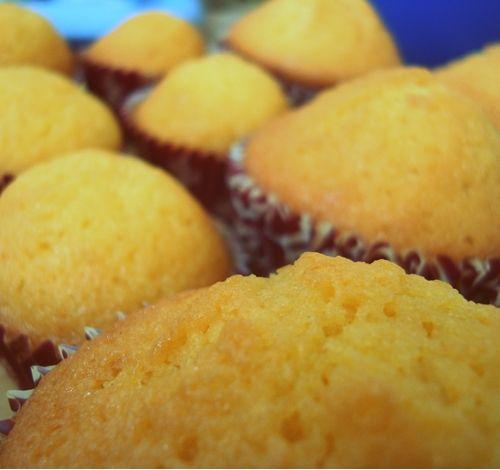 vanilla orange muffins