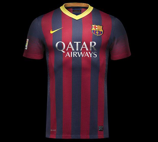 New FC Barcelona Home Kits