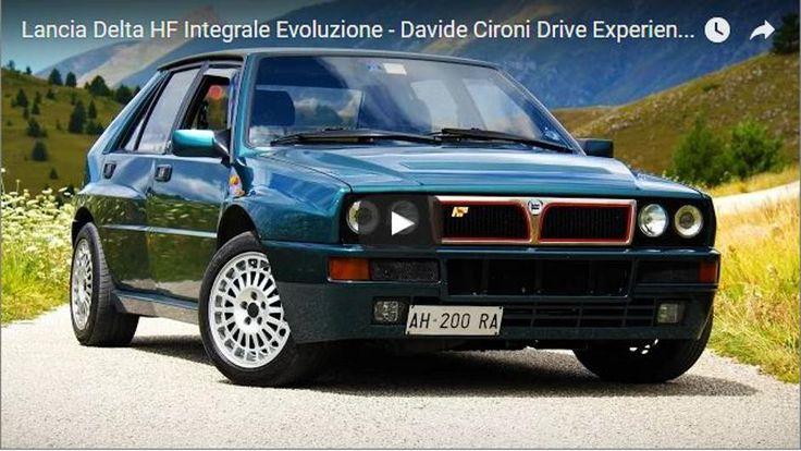 Lancia Delta HF Integrale Evoluzione - Davide Cironi Drive Experience