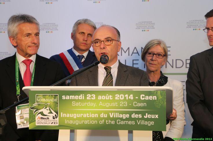 Bernard Cazeneuve, interior minister - Copyright : PSV Photo