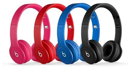 Beats headphones made from lightweight, flexible materials come reinforced with an indestructible metal strip; 2 speakers in each can
