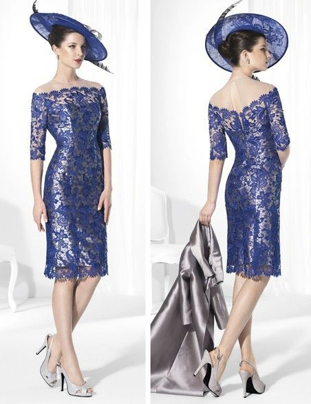 2015 look for mother of the bride   New-2015-vestido-mae-da-noiva-Lace-Mother-Of-The-Bride-Dress-Knee ...