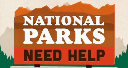 National parks need help! This infographic explains