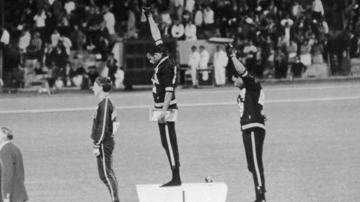 Peter Norman is an Australian athlete who played a pivotal role in making this moment happen.
