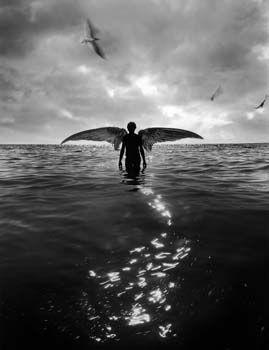 angel in water- Jerry N. Uelsmann