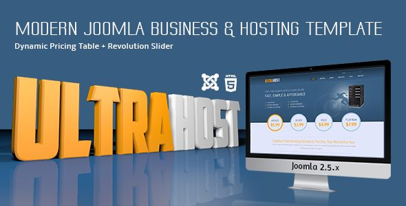 UltraHost - Business & Hosting Joomla Template - Hosting Technology