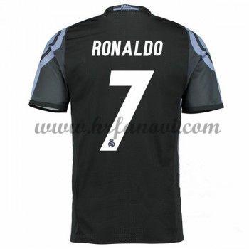 Real Madrid Nogometni Dresovi 2016-17 Ronaldo 7 Rezervni Dres Komplet