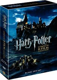complete Harry Potter film collection box set
