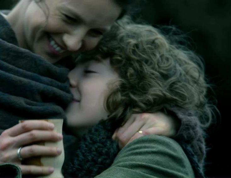 "Fergus and Claire Fraser (Caitriona Balfe) in Episode 209 ""Je Suis Prest"" of Outlander Season Two on Starz via https://outlander-online.com/2016/06/04/1680-uhq-1080p-screencaps-of-episode-2x09-of-outlander-je-suis-prest/"